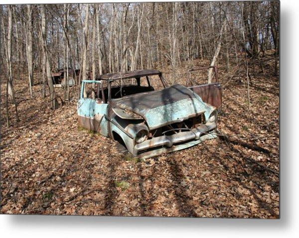 Abandoned Car 1 Metal Print