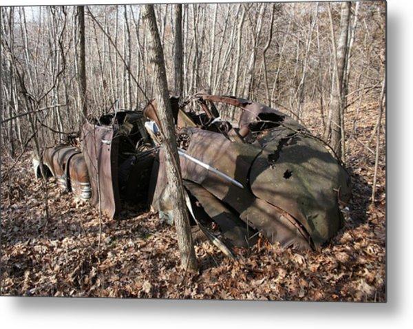 Abandoned Car 11 Metal Print