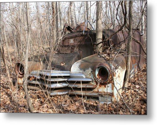 Abandoned Car 5 Metal Print