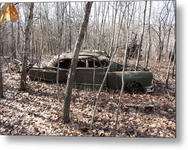 Abandoned Car 6 Metal Print