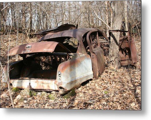 Abandoned Car 7 Metal Print