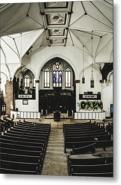 Abandoned Church. Dilapidated Church In St. Louis Metal Print by Dylan Murphy