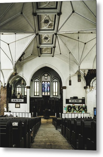 Abandoned Church Metal Print by Dylan Murphy