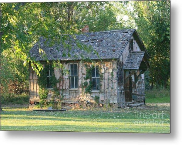 Abandoned Cottage Metal Print