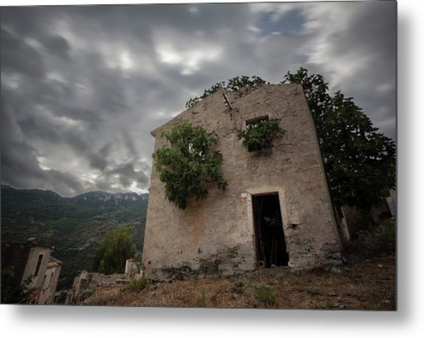 Abandoned Country Metal Print