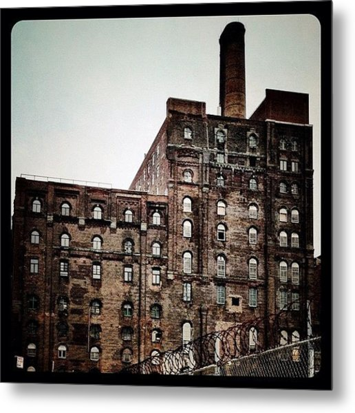 Abandoned Factory Metal Print