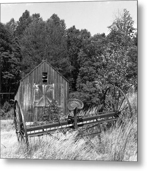 Abandoned Farm Atlantic Coast  Metal Print