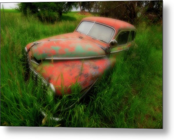 Abandoned In The Palouse Metal Print