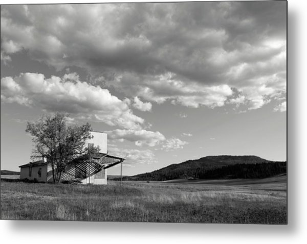 Metal Print featuring the photograph Abandoned In Wyoming by Angela Moyer