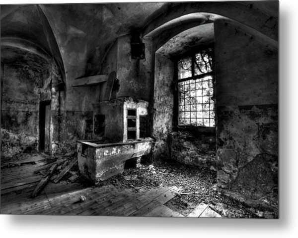 Abandoned Kitchen Metal Print
