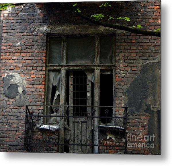 Abandoned Krakow Poland Metal Print by Wayne Higgs
