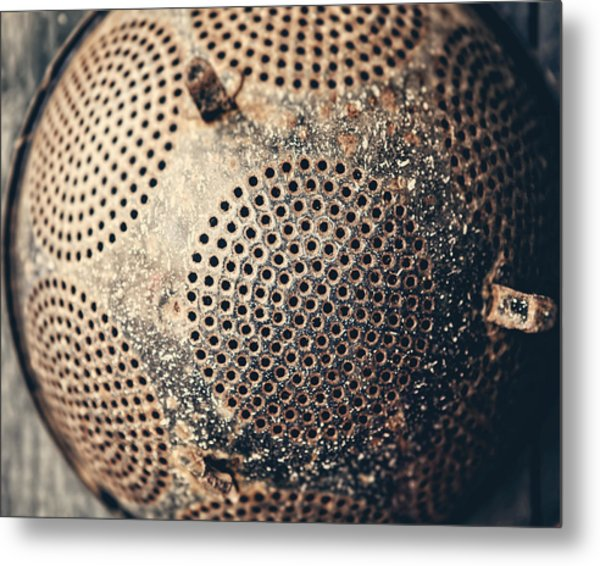 Abandoned Metal Print by Lisa Russo