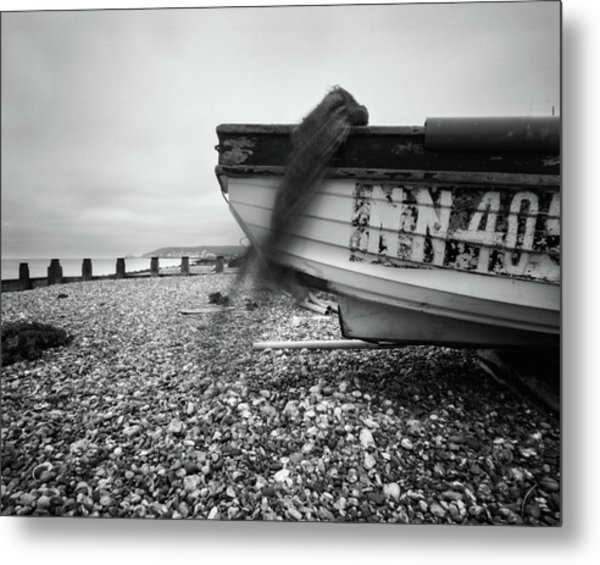 Metal Print featuring the photograph Abandoned Nn405 Pinhole Photo by Will Gudgeon