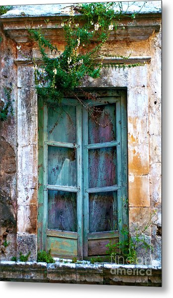 Abandoned Sicilian Sound Of Noto Metal Print