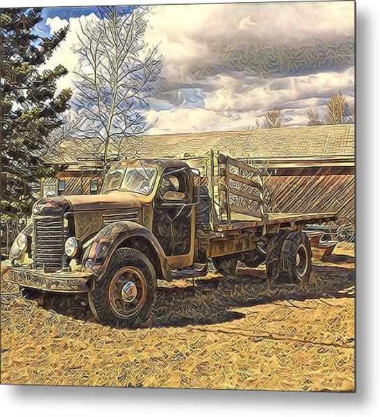 Abandoned Vehicle Canol Project 1945 Metal Print
