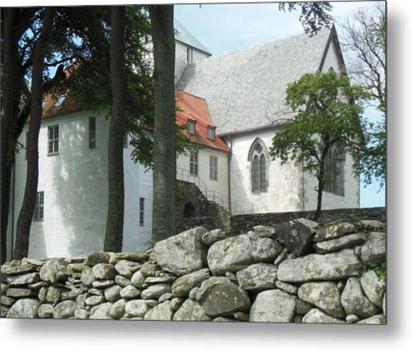 Abbey Exterior #2 Metal Print