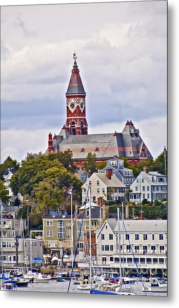 Abbott Hall From Water View Metal Print