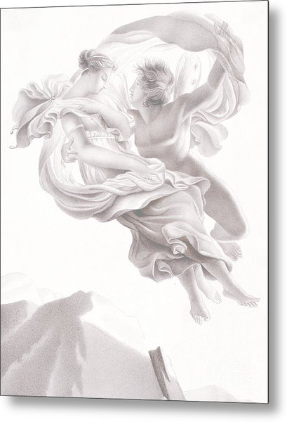 Abduction Of Psyche Metal Print