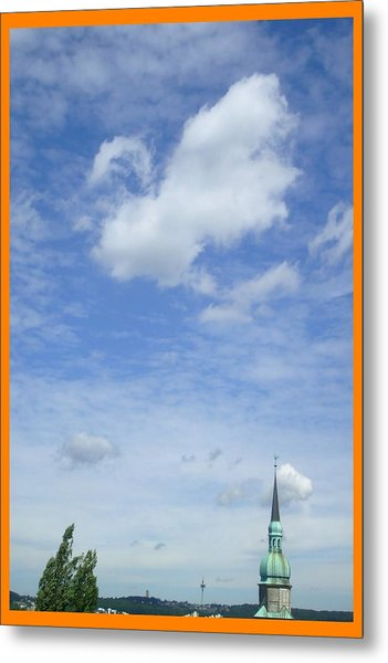 About Reaching The Sky Metal Print by Allen Rybo
