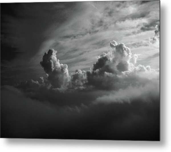 Above Earth 4 Metal Print