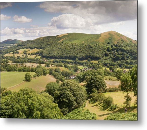 Above Little Stretton Metal Print by Richard Greswell
