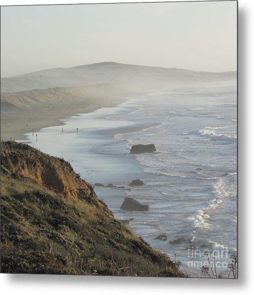 Looking Toward San Francisco Metal Print