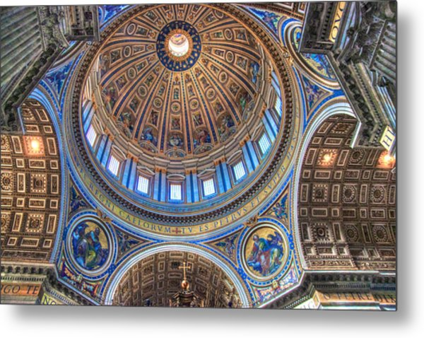 Above Saint Peters Metal Print
