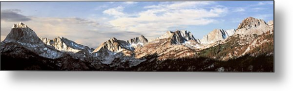 Above South Lake Metal Print by Larry Darnell