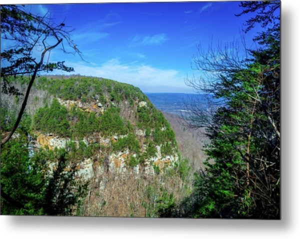 Above The Canyon Metal Print