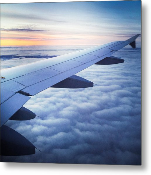 Above The Clouds 01 Metal Print