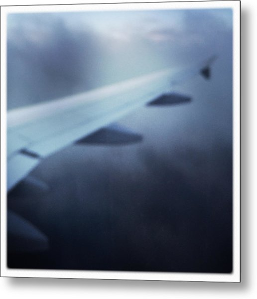 Above The Clouds 04 - Dreaming Metal Print