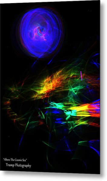 Above The Cosmic Sea Metal Print