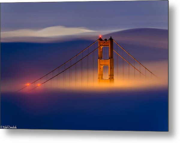 Above The Fog Metal Print