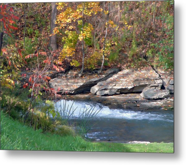 Above The Mill Metal Print by Art Tilley