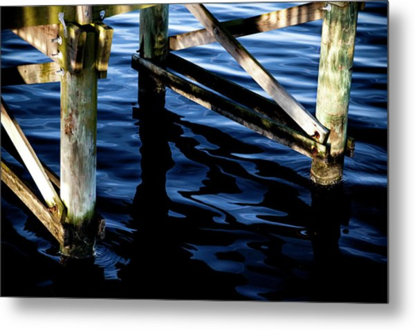 Metal Print featuring the photograph Above Water by Eric Christopher Jackson