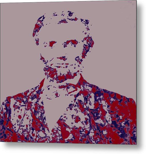 Abraham Lincoln 4c Metal Print
