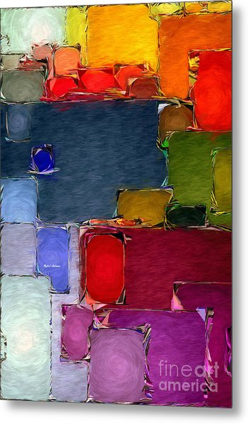 Abstract 005 Metal Print