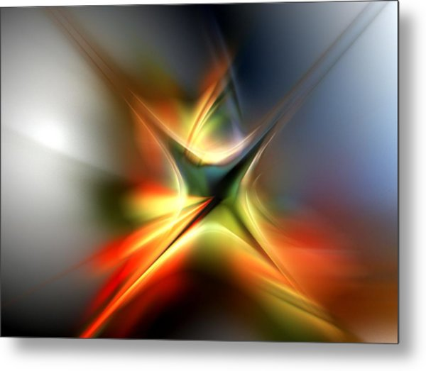 Abstract 060310a Metal Print