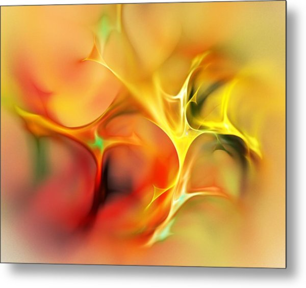 Abstract 061410a Metal Print