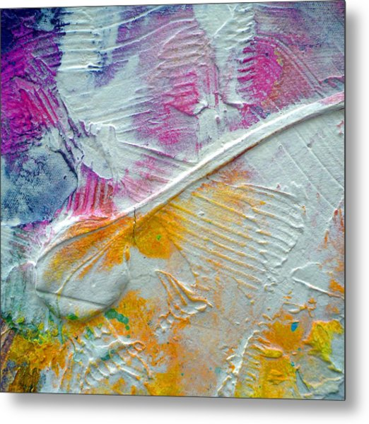 Metal Print featuring the painting Abstract 1 by Tracy Bonin