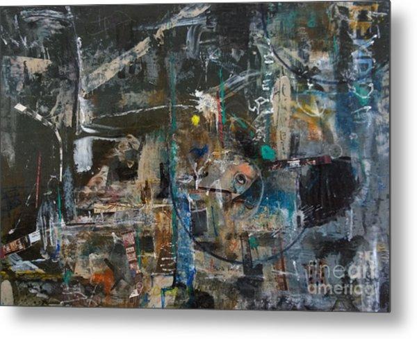 Abstract #101414 - Fendi Metal Print