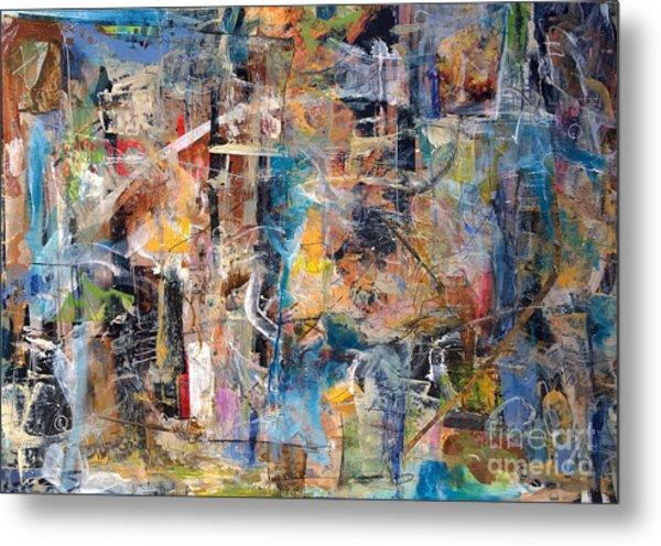 Abstract #101514 Metal Print