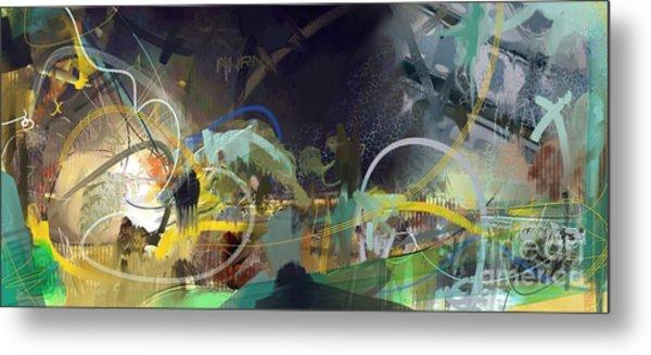 Abstract 11715 Metal Print