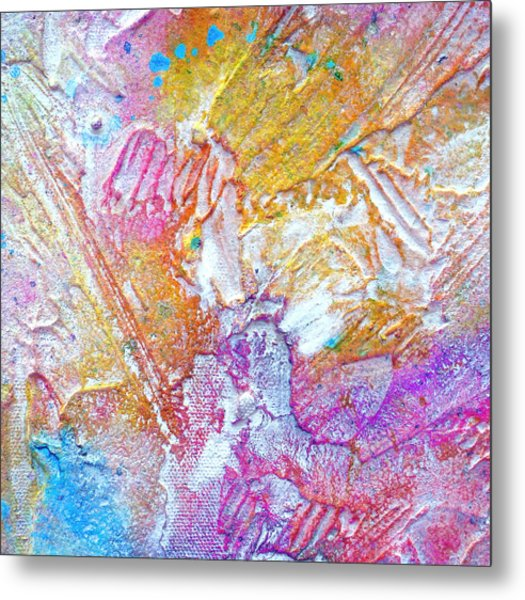Metal Print featuring the painting Abstract 2 by Tracy Bonin