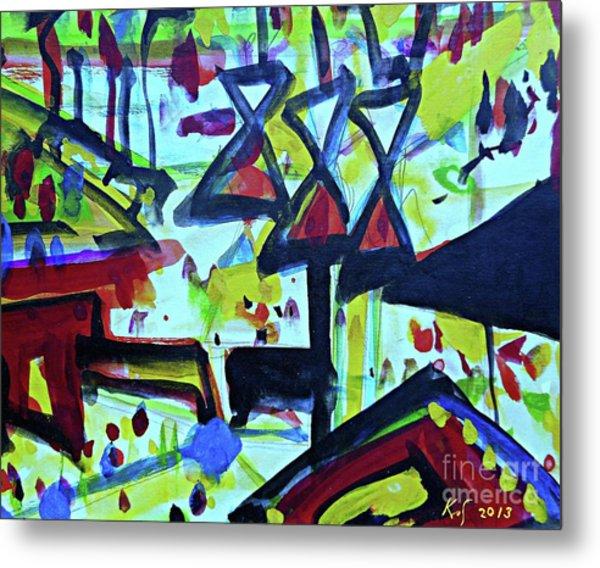 Abstract-27 Metal Print