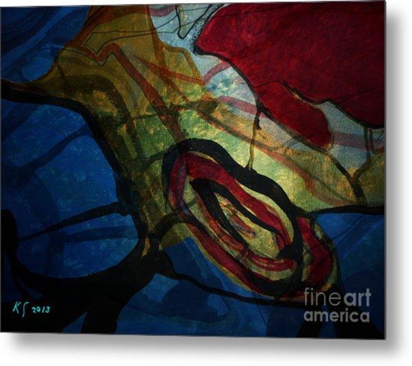 Abstract-31 Metal Print