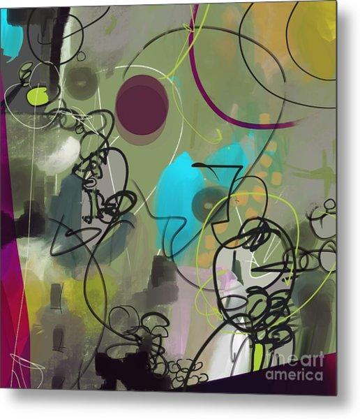 Abstract #31315 Metal Print