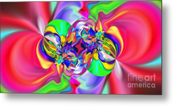 Abstract 383 Metal Print by Rolf Bertram