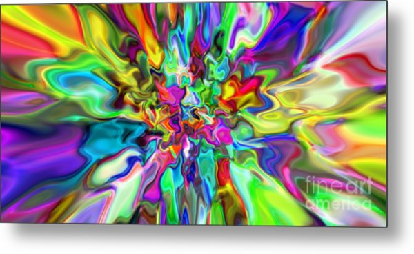 Abstract 394 Metal Print by Rolf Bertram