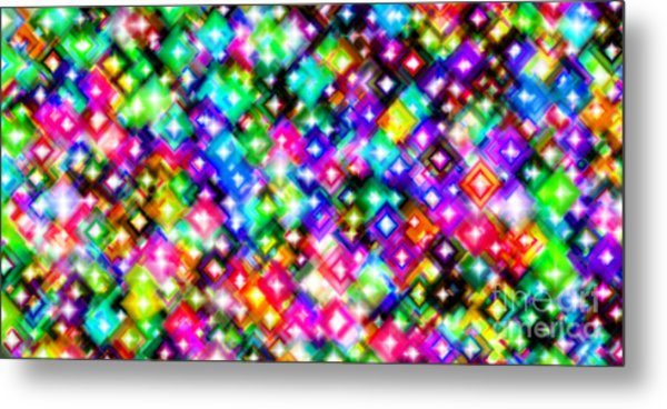 Abstract 399 Metal Print by Rolf Bertram
